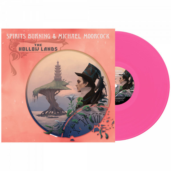 Spirits Burning & Michael Moorcock - The Hollow Lands (Limited Edition Pink Vinyl)