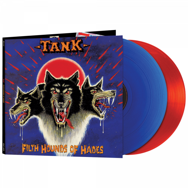 Tank - Filth Hounds of Shade (Limited Edition Red & Blue Vinyl)