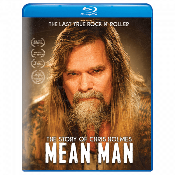 Mean Man: The Story Of Chris Holmes (Blu-Ray)