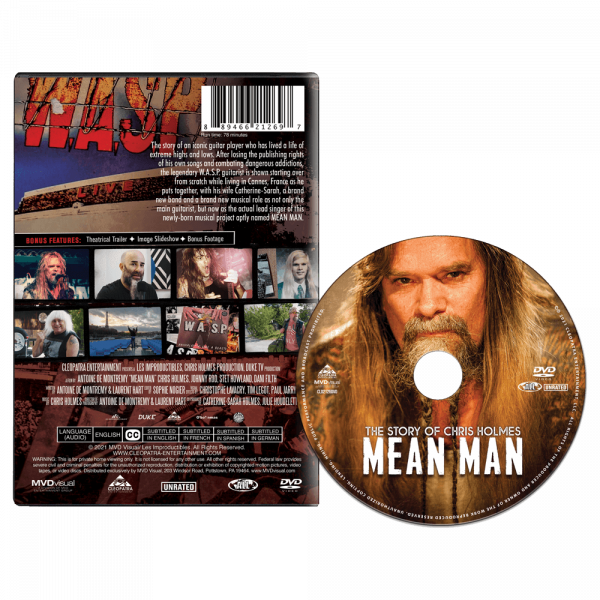 Mean Man: The Story Of Chris Holmes (DVD)