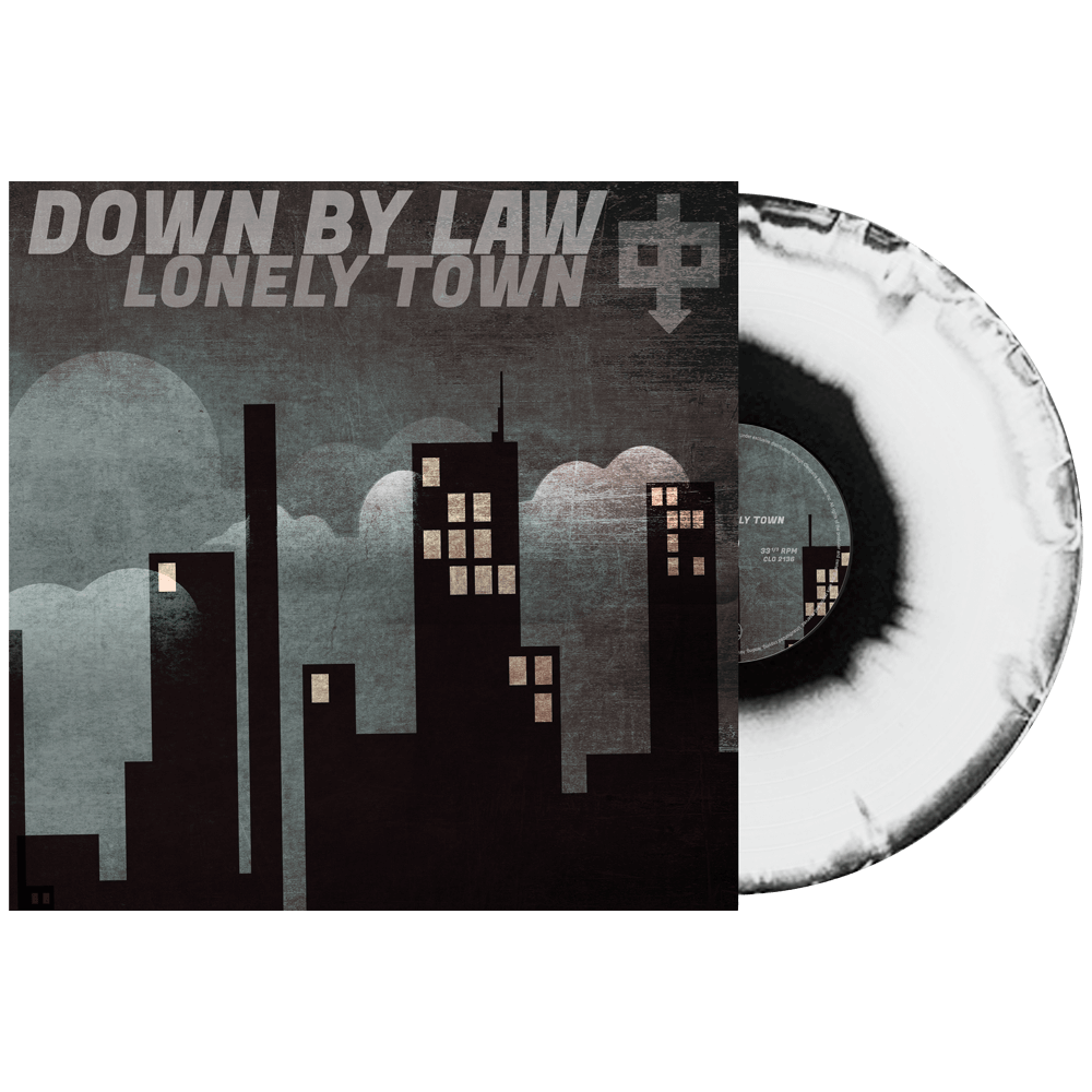 Down By Law - Lonely Town (Limited Edition Black & White Haze Vinyl)