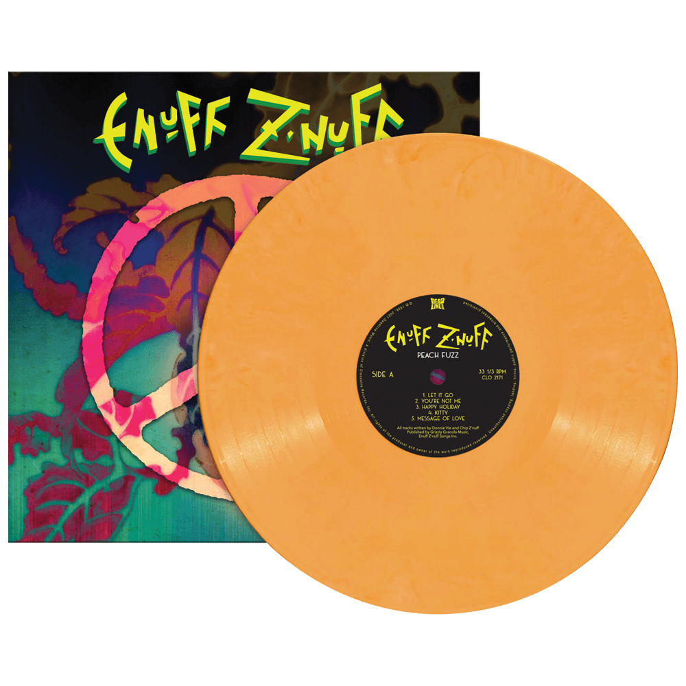 Enufff Z'Nuff - Peach Fuzz (Limited Edition Peach Vinyl)