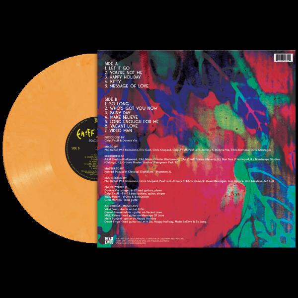 Enufff Z'Nuff - Peach Fuzz (Limited Edition Peach Vinyl)