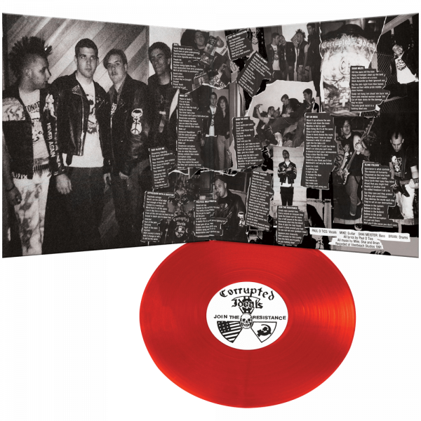 Corrupted Ideals - Join The Resistance (Limited Edition Red Vinyl)
