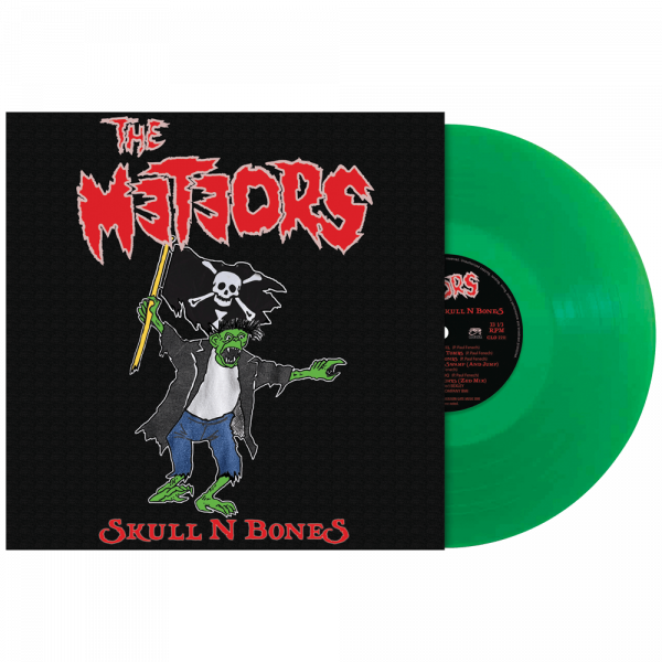 The Meteors - Skull N Bones (Limited Edition Green Vinyl)