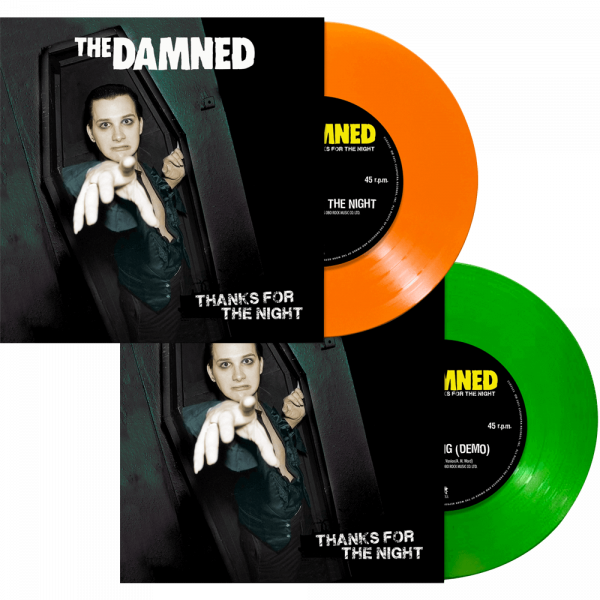 "The Damned - Thanks for the Night (Limited Edition Colored 7"" Vinyl)"