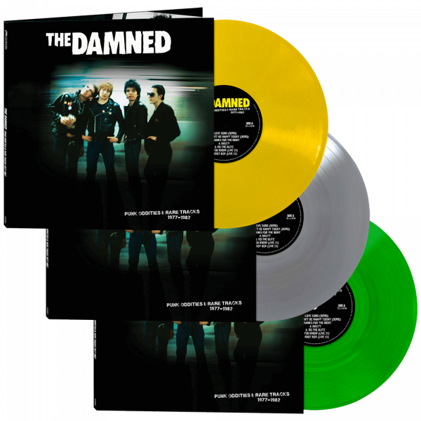 The Damned - Punk Oddities & Rare Tracks 1977-1982 (Limited Edition Colored Vinyl)