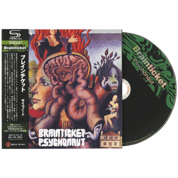 Brainticket - Psychonaut (Collector's Edition CD)