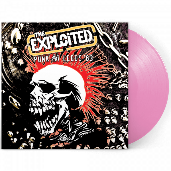The Exploited - Punk At Leeds '83 (Limited Edition Pink Vinyl)