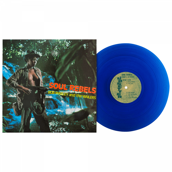 Bob Marley & The Wailers - Soul Rebels (Limited Edition Blue Vinyl)