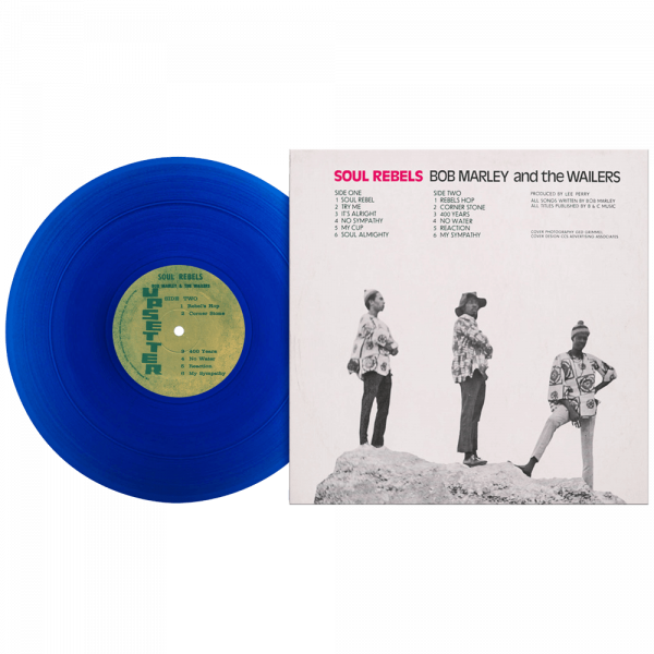 Bob Marley & The Wailers - Soul Rebels (Limited Edition Blue Vinyl)