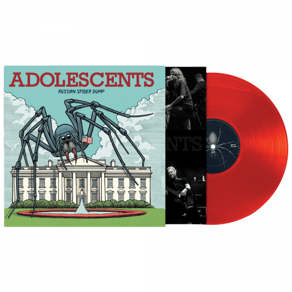 Adolescents - Russian Spider Dump (Limited Edition Red Vinyl)