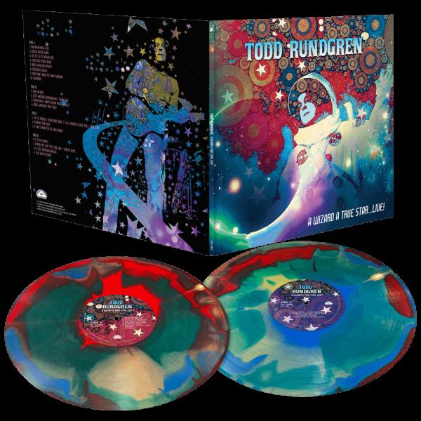 Todd Rundgren - A Wizard A True Star...Live! (Limited Edition Swirl Double Vinyl)