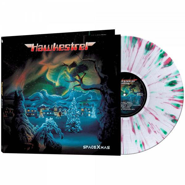 Hawkestrel - SpaceXmas (Limited Edition Splatter Vinyl)