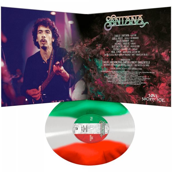 Santana - Soul Sacrifice (Limited Edition Tricolor Vinyl)
