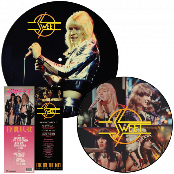 Sweet - Fox on the Run - Rare Studio Tracks (Picture Disc Vinyl)