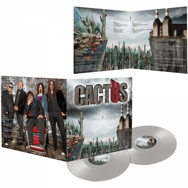 Cactus - Tightrope (Limited Edition Colored Double Vinyl)