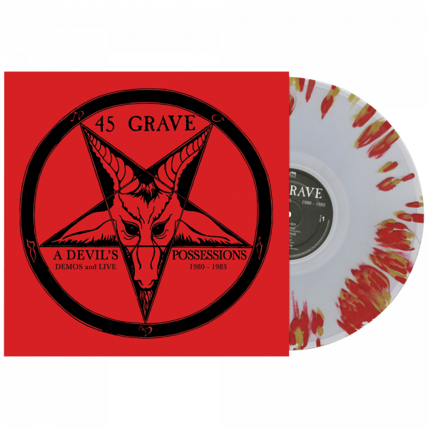 45 Grave - A Devil's Possessions (Limited Edition Splatter Vinyl)
