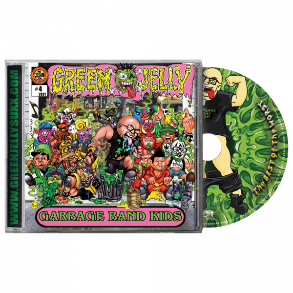 Green Jelly - Garage Band Kids (CD)