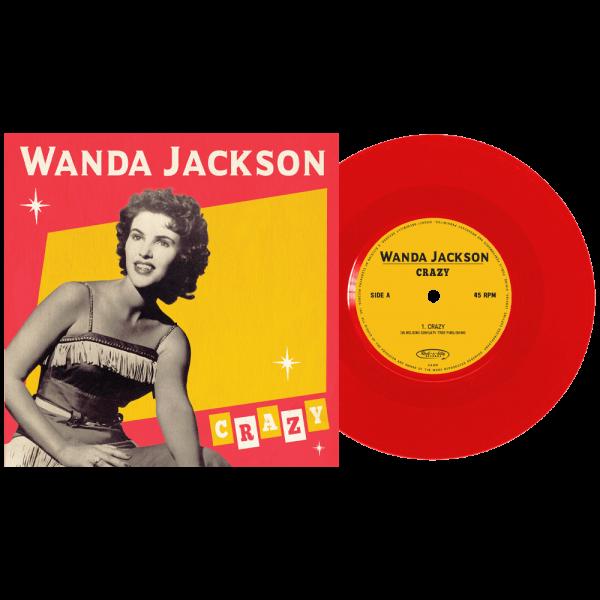 "Wanda Jackson - Crazy (Limited Edition Colored 7"" Vinyl)"