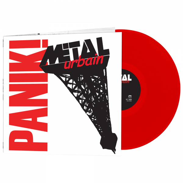 Metal Urbain - Panik! (Limited Edition Red Vinyl)