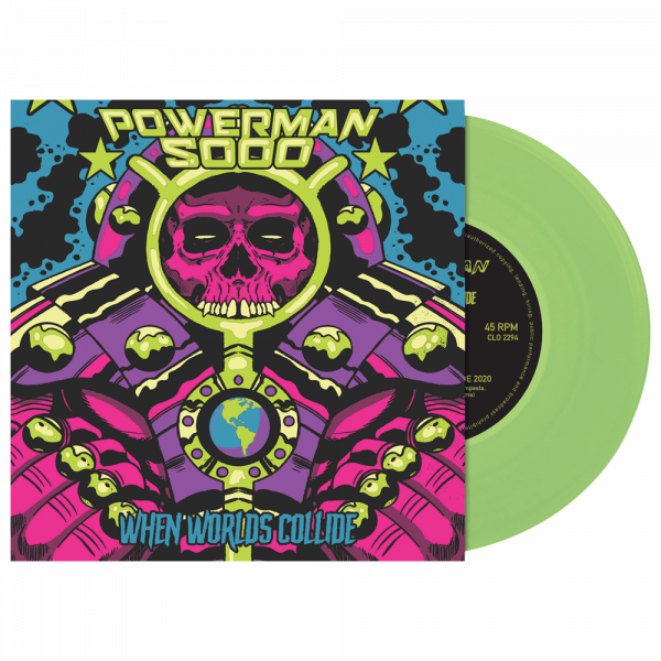 "Powerman 5000 - When Worlds Collide (Limited Edition Green 7"" Vinyl)"