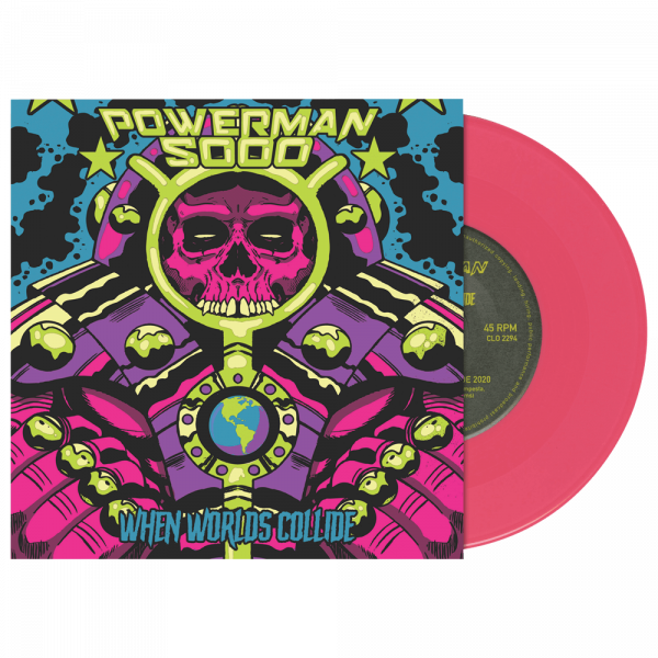 "Powerman 5000 - When Worlds Collide (Limited Edition Pink 7"" Vinyl)"