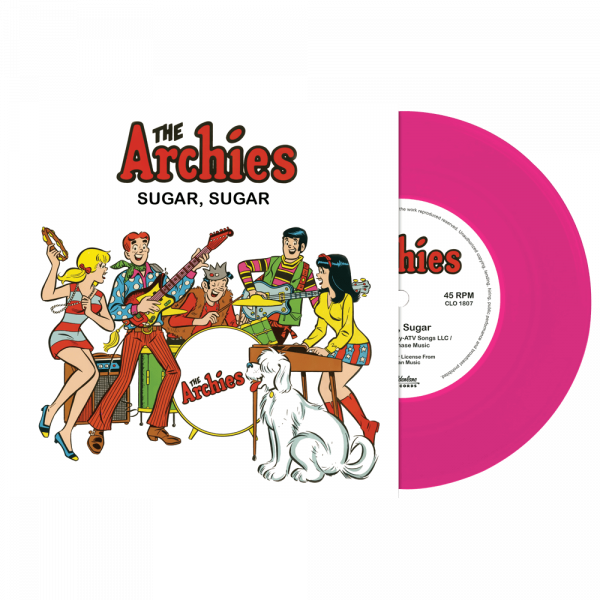 "The Archies - Sugar Sugar (Limited Edition Pink 7"" Vinyl)"