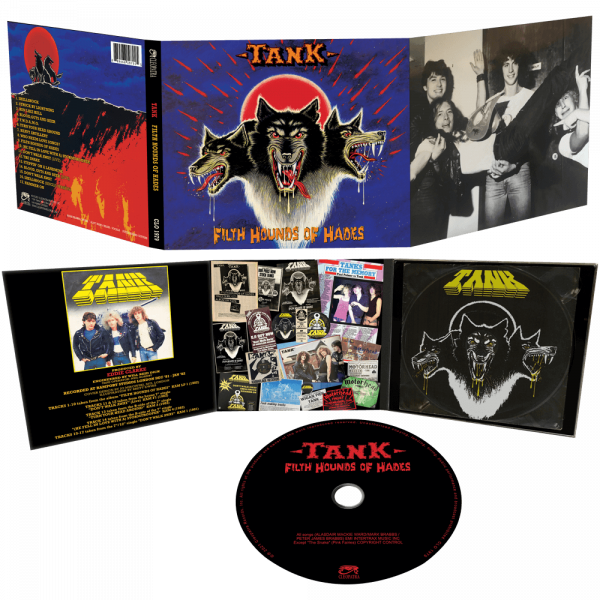 Tank - Filth Hounds of Hades (CD)