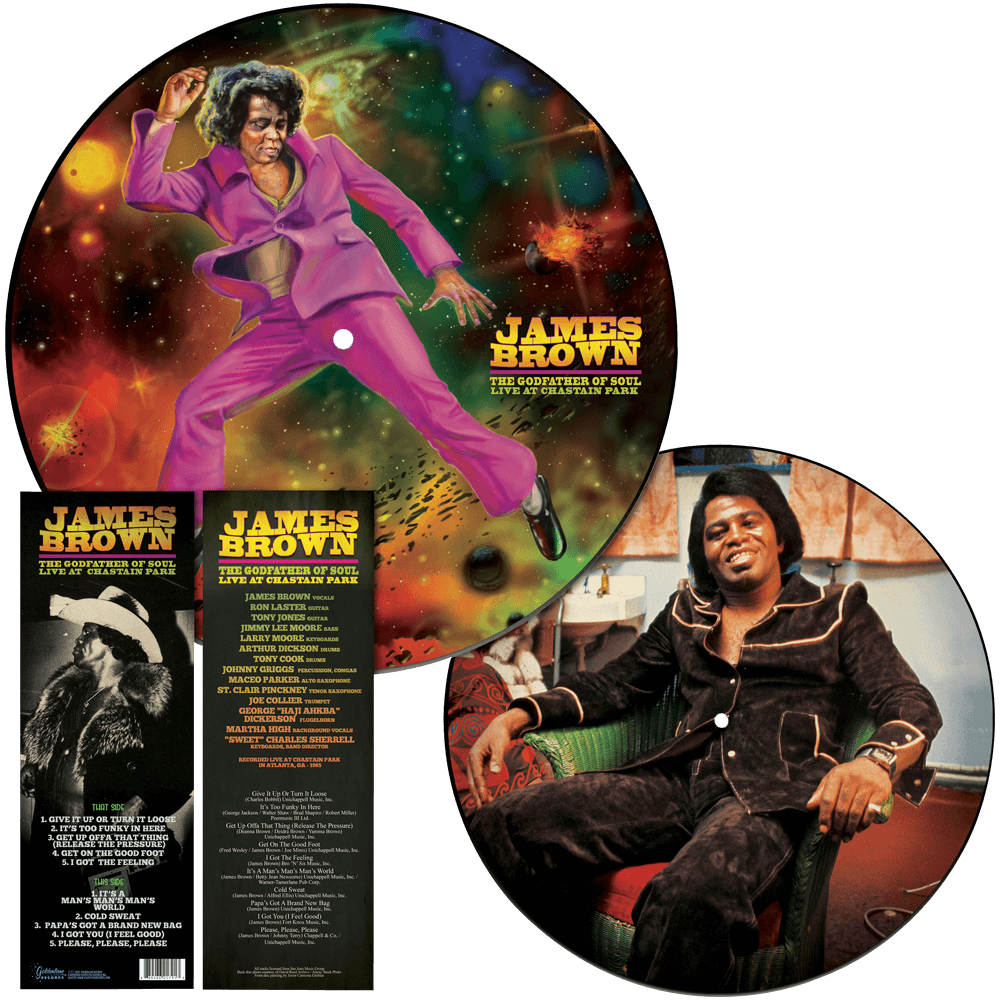 James Brown - The Godfather of Soul - Live at Chastain Park (Picture Disc Vinyl)