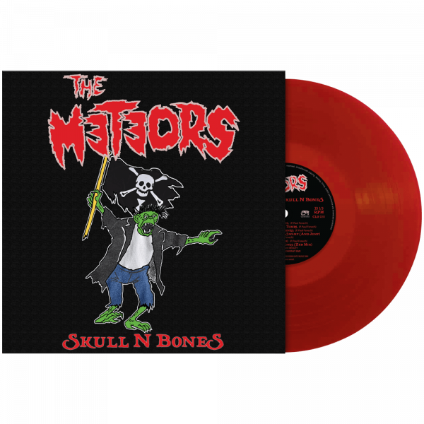 The Meteors - Skull N Bones (Limited Edition Red Vinyl)
