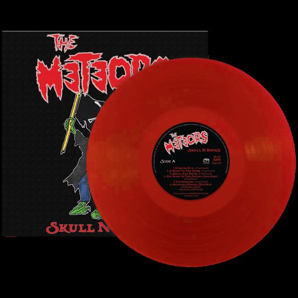 The Meteors - Skull N Bones (Limited Edition Red Vinyl)