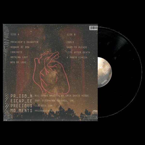 Prison Escapee - Precious Moments (Limited Edition Black Vinyl)