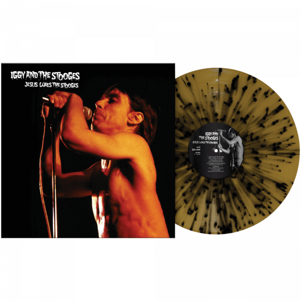 Iggy & The Stooges - Jesus Loves The Stooges (Limited Edition Splatter Vinyl)