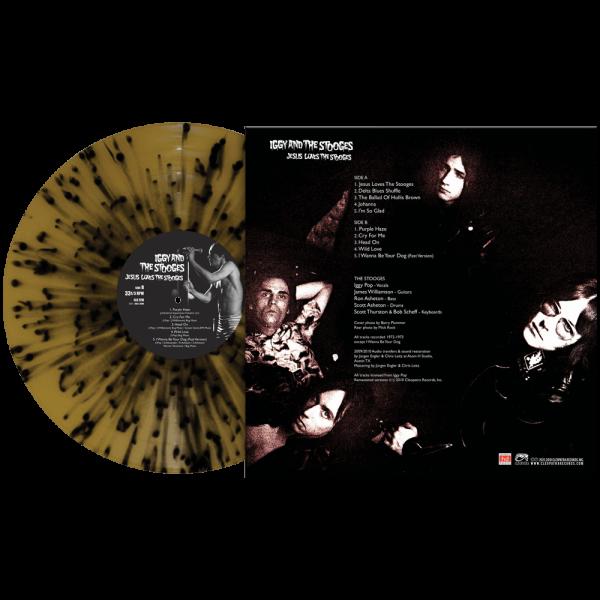 Iggy & The Stooges - Jesus Loves The Stooges (Limited Edition Splatter Vinyl)