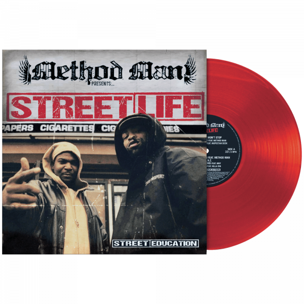 Method Man Presents Street Life - Street Education (Limited Edition Red Vinyl)