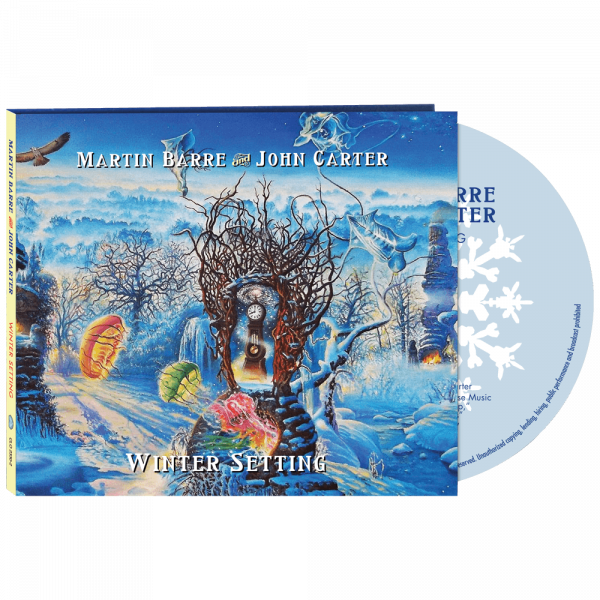 Martin Barre And John Carter - Winter Setting (CD)