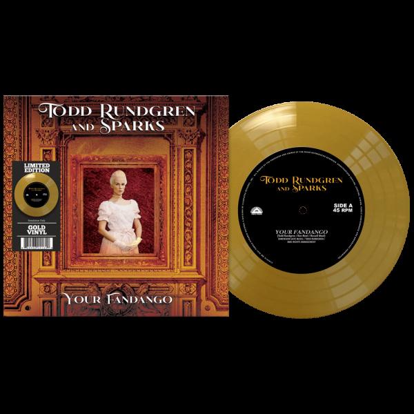 "Todd Rundgren & Sparks - Your Fandango (Limited Edition Colored 7"" Vinyl)"