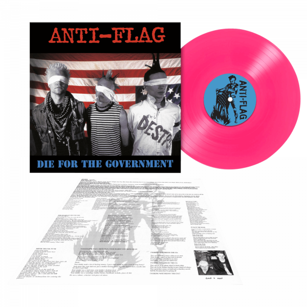 Anti-Flag - Die For The Government (Limited Edition Pink Vinyl)