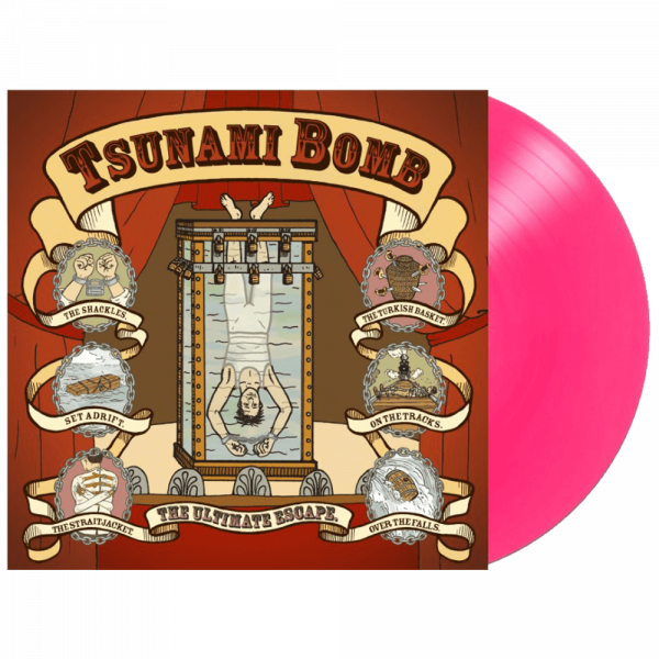 Tsunami Bomb - The Ultimate Escape (Limited Edition Pink Vinyl)