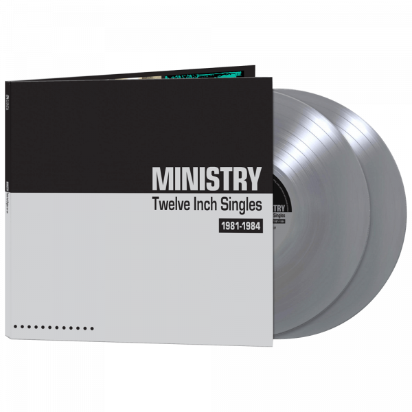 Ministry - Twelve Inch Singles (Limited Edition Silver Vinyl)