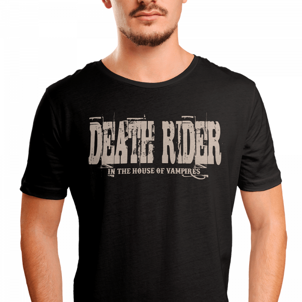 Death Rider - In The House of Vampires (T-Shirt)