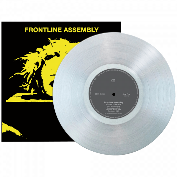 Frontline Assembly - State of Mind (Limited Edition Clear Vinyl)
