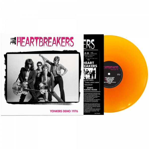 Johnny Thunders & The Heartbreakers - Yonkers Demo 1976 (Limited Edition Orange Vinyl)