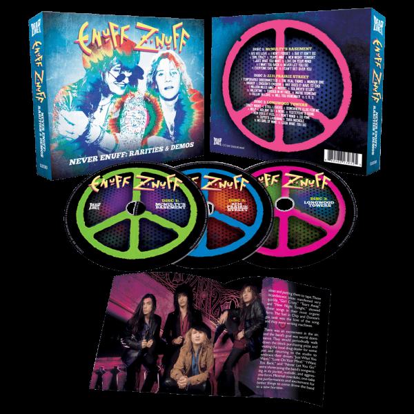 Enuff Z'Nuff - Never Enuff - Rarities & Demos (3CD)