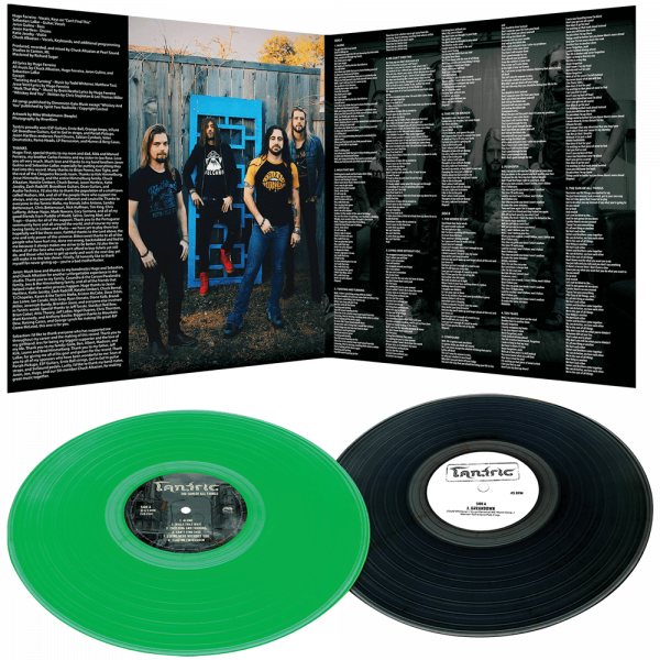 """Tantric - The Sum of All Things (Limited Colored Vinyl + Bonus 12"""" Single)"""