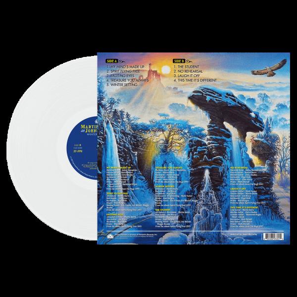 Martin Barre & John Carter - Winter Setting (Limited Edition White Vinyl)