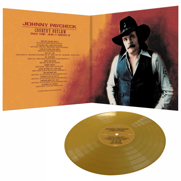 Johnny Paycheck - Country Outlaw - Take This Job & Shove It (Limited Edition Gold Vinyl)