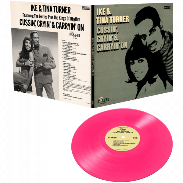Ike & Tina Turner - Cussin'. Cryin' & Carryin' On (Limited Edition Colored Vinyl)