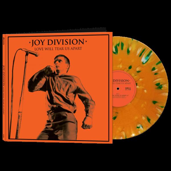 Joy Division - Love Will Tear Us Apart (Limited Edition Orange Splatter Vinyl)